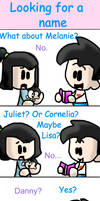 comic: looking for a name by Chibi-Danny