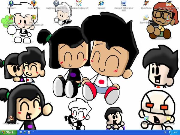 Chibi Desktop by Chibi-Danny