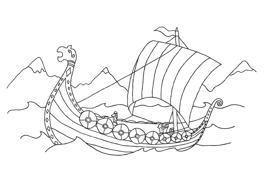 Longship by Julianne26 on DeviantArt