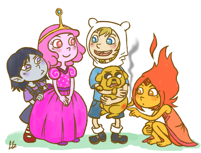 Adventure Time by Liralicia