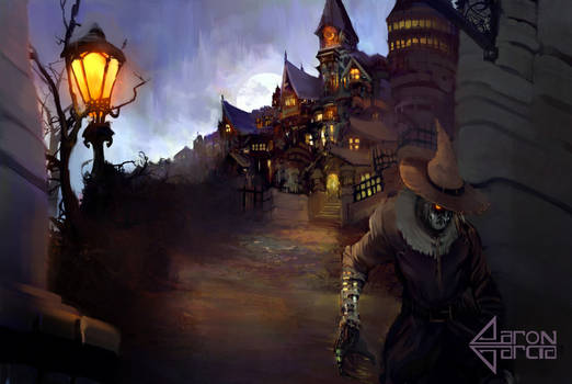 Escape From Arkham Asylum (Scarecrow)