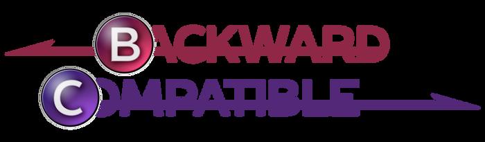 Backward Compatible Logo