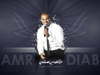 Amr Diab Smile by haythom