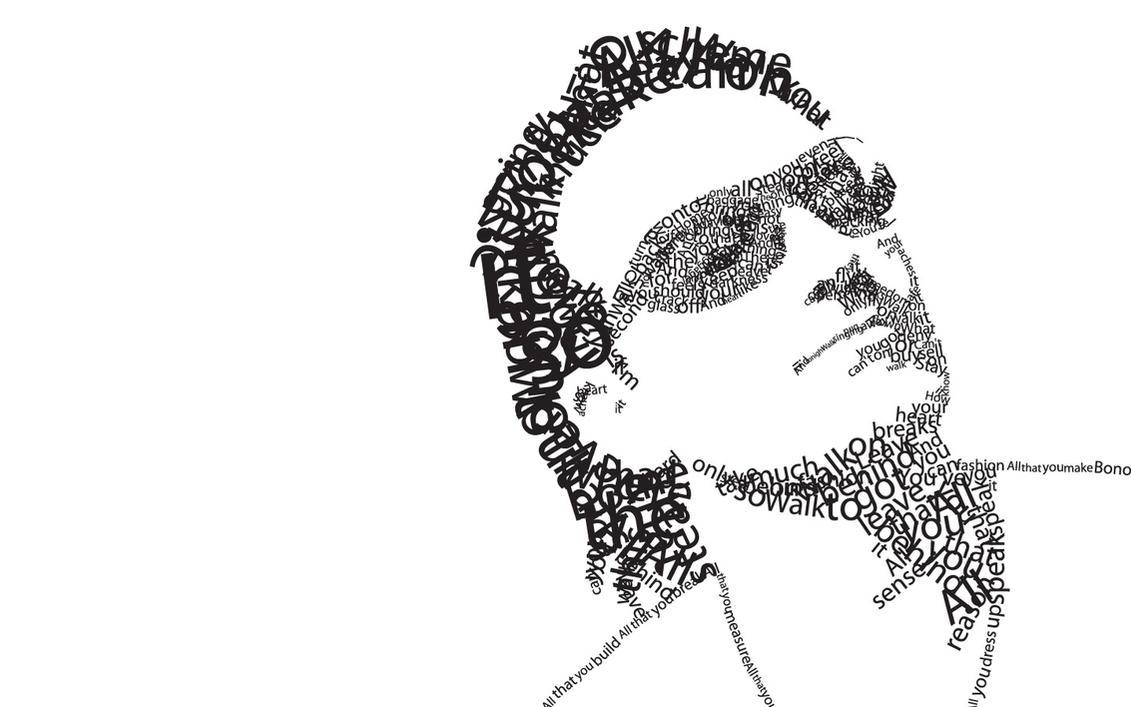 Bono Type by CaliburlessSoul