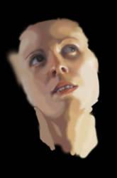 Incomplete Portrait by CaliburlessSoul