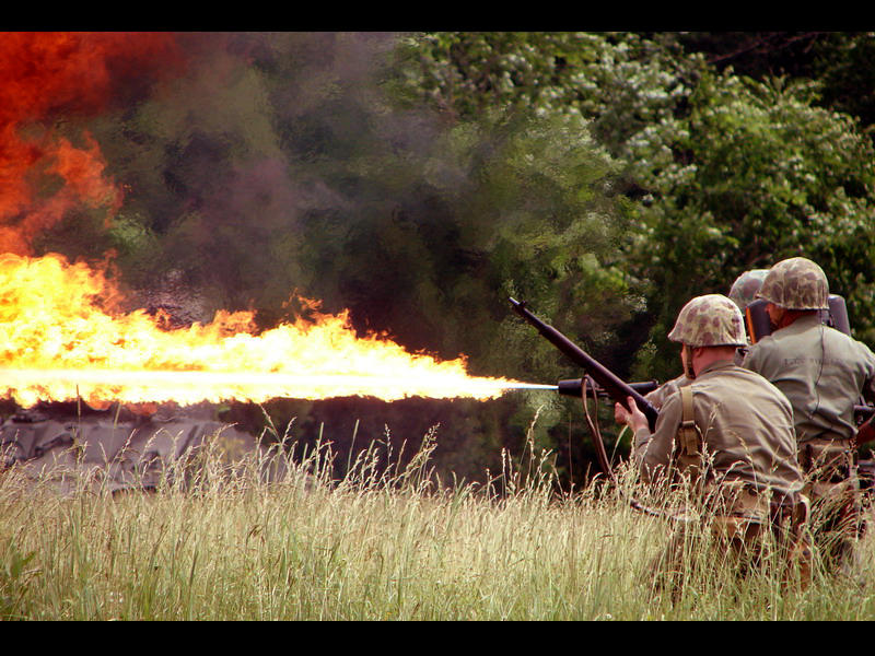 - Flame Thrower - by The-Pillbox