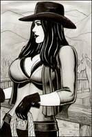 Cowgirl by rplatt