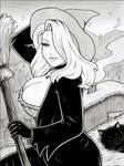 Cute Witch by rplatt