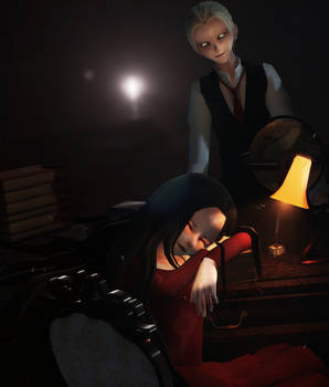 [MMD] [The Evil Within] Ruben V. and Laura V.