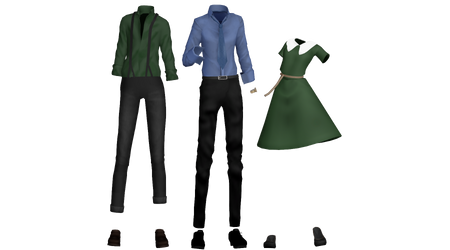 [MMD] OC Outfit
