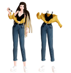 [MMD] New OC+outfit: Alex
