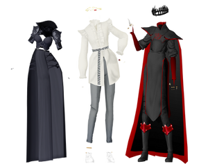 [MMD] Random outfits