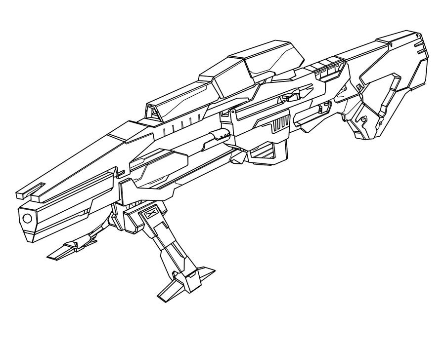 Sniper Gun Drawings How to Draw Sniper Gun Page