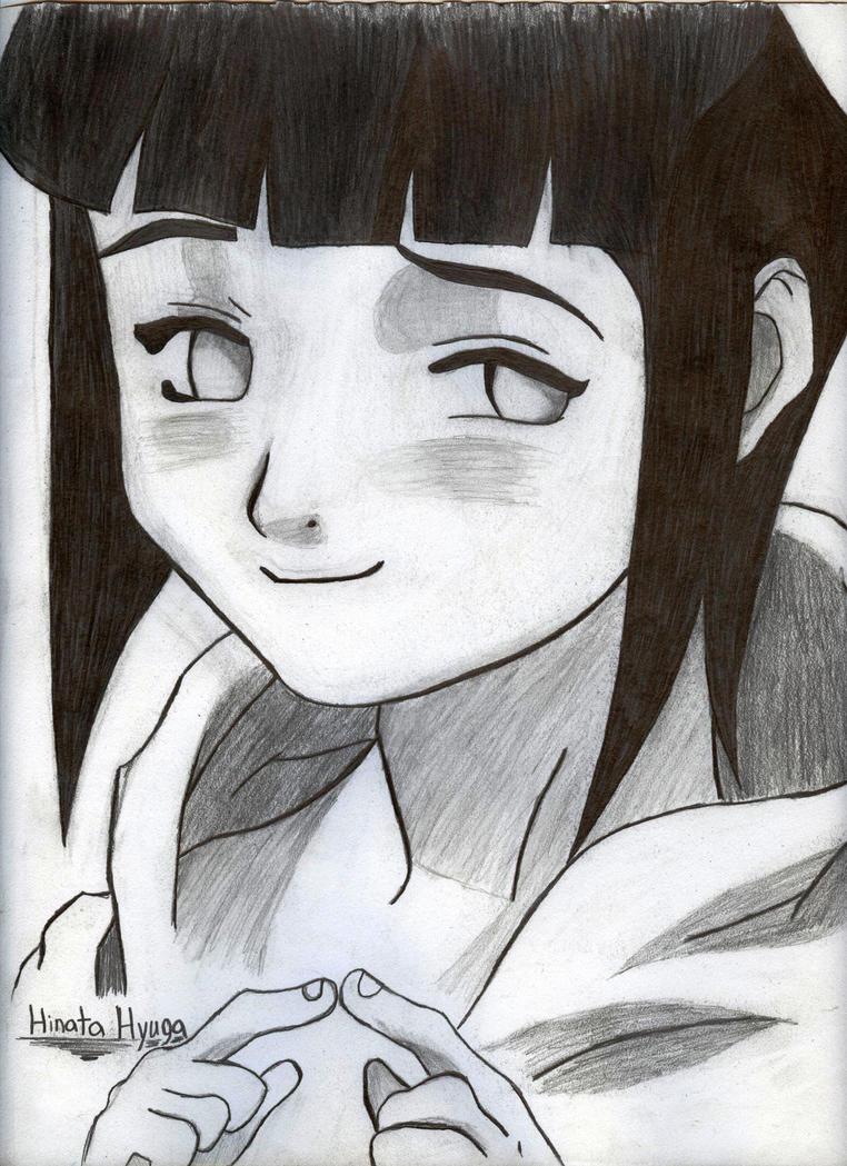 Hyuga Hinata Shy by KyceSilverFalcon