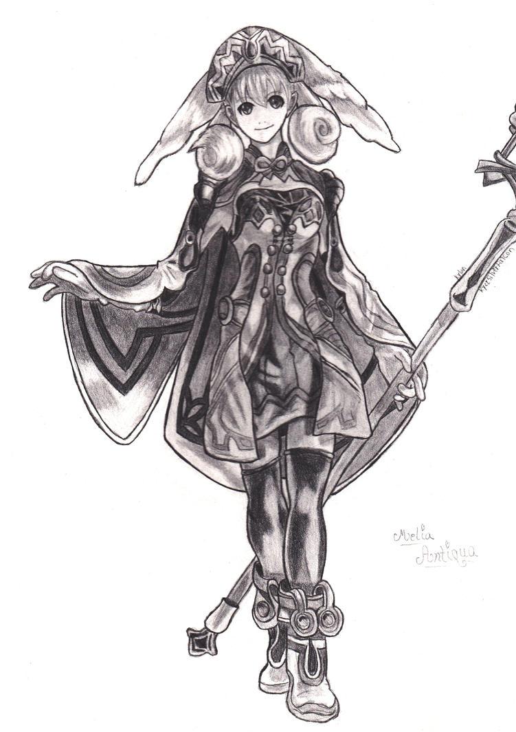 Melia Antiqua by KyceSilverFalcon