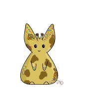 Giraffe Sprinkle Bunny by PipDesign