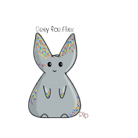 Grey For Alex Sprinkle Bunny by PipDesign