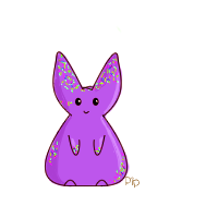 Purple Sprinkle Bunny by PipDesign