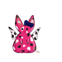 Spotted Sprinkle Bunny by PipDesign