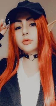 Red Elf Girl Sayuri