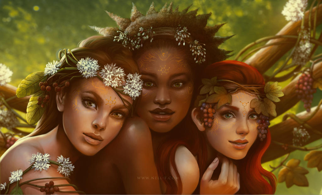 Muses by nell-fallcard