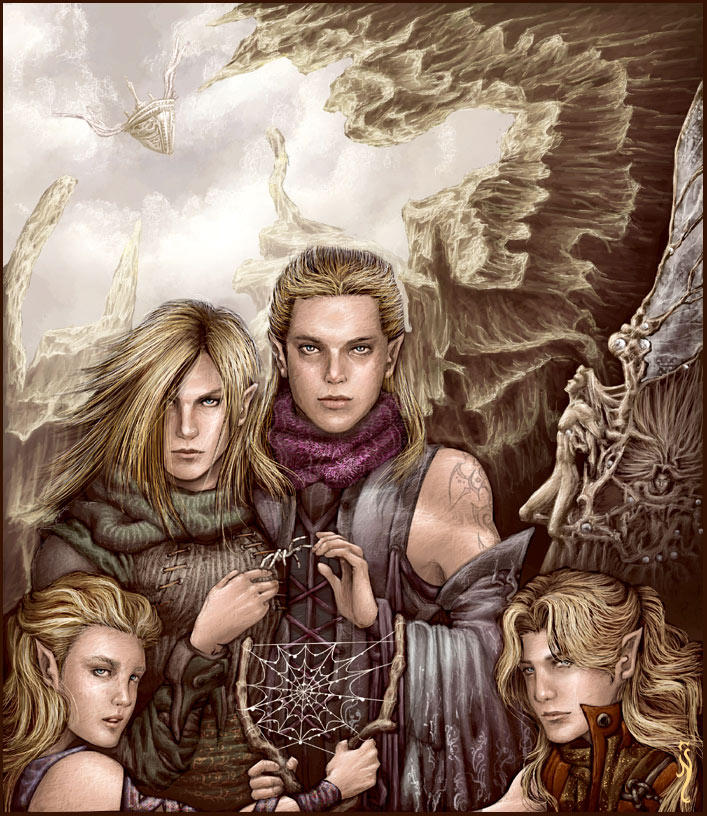 Elves by nell-fallcard