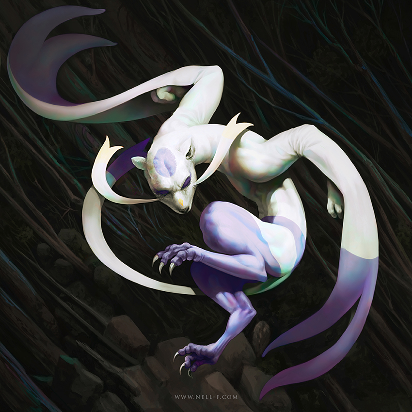 Mienshao Fan Art by nell-fallcard