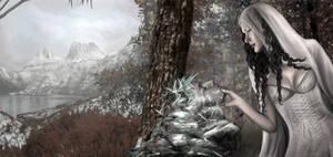 Frozen Lady by nell-fallcard