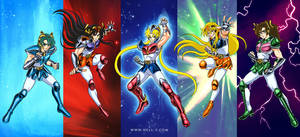 Saint Moon: Knights of the Planets by nell-fallcard