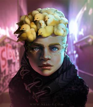 Chicken Medusa Kid