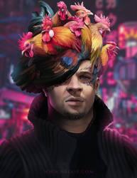 Chicken Medusa Man