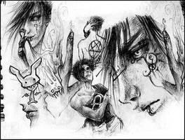 Bored in Class:Kardott Collage