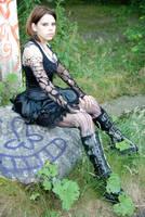 Goth Shoot 17 by EbonyScar