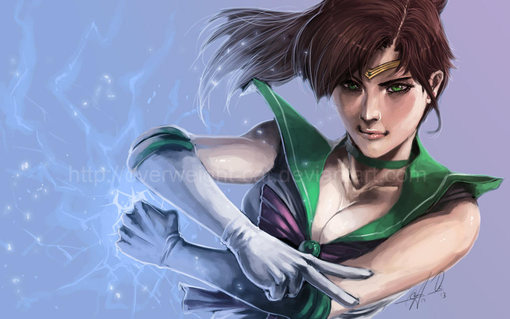 Sailor Jupiter II by Overweight-Cat