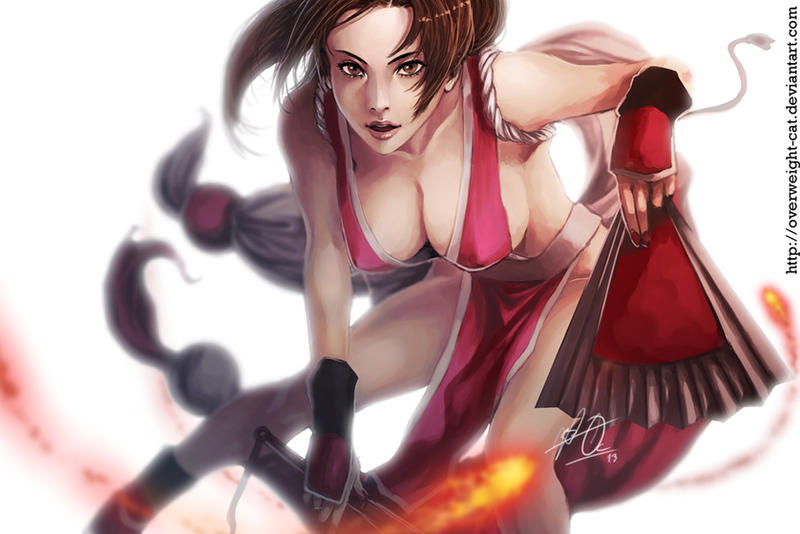 Mai Shiranui by Overweight-Cat