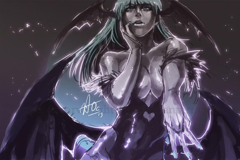 Morrigan by Overweight-Cat