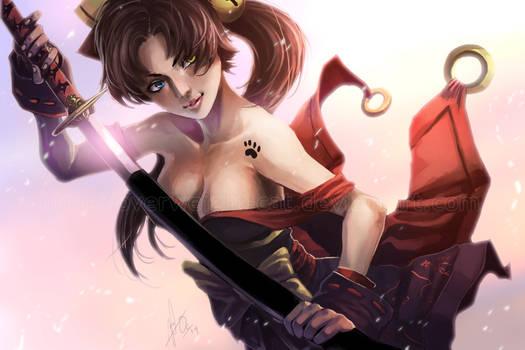 COM: Feline Swordmaster