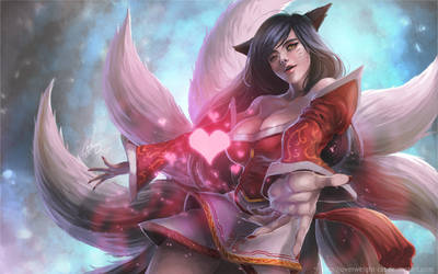 Ahri by Overweight-Cat