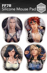 FF7 Silicone Mouse Pad