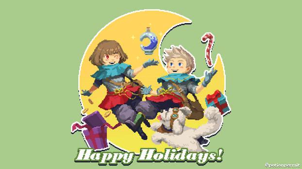 Happy Holidays from Moonbury