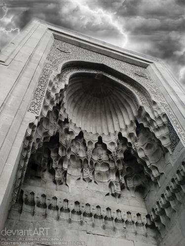 by ~ Numizmat Shirvanshahlar_Palace_by_Numizmat