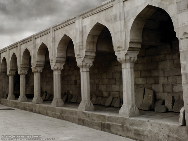 Our old city Baku by Numizmat