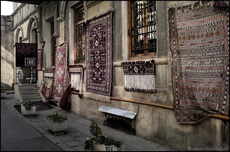 The magic carpets by Numizmat
