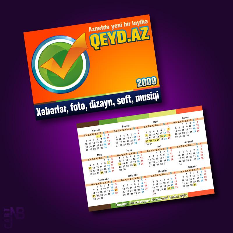 Calendar by Numizmat
