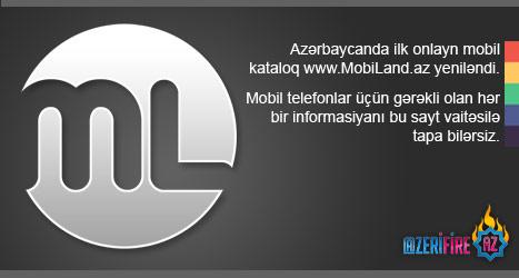 Logo for MobiLand.az by Numizmat