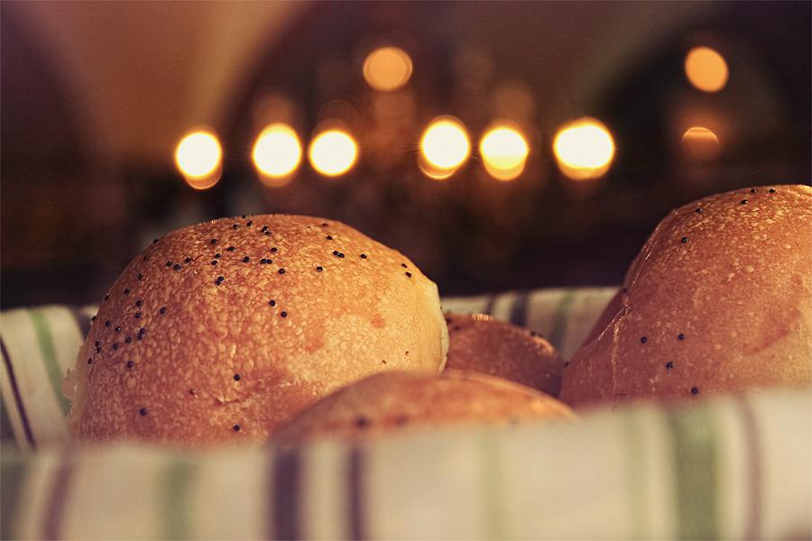 fresh baked bread by Numizmat