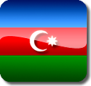 Azebaijan Flag by Numizmat
