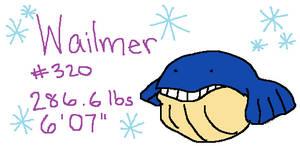 Project Pokedex: Number 320 - Wailmer