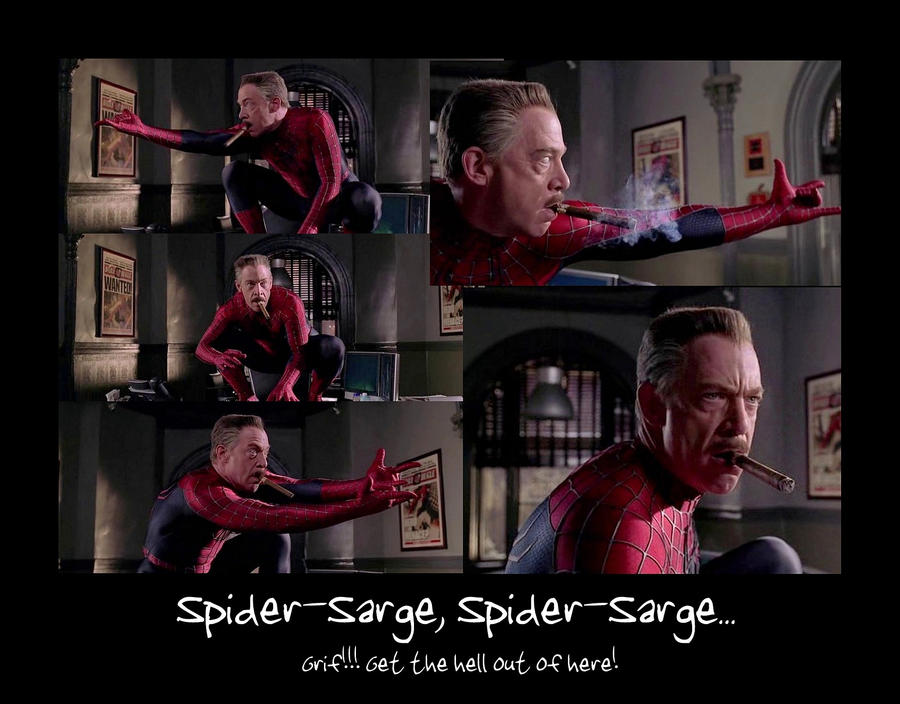 Spider-Sarge by Vampyna