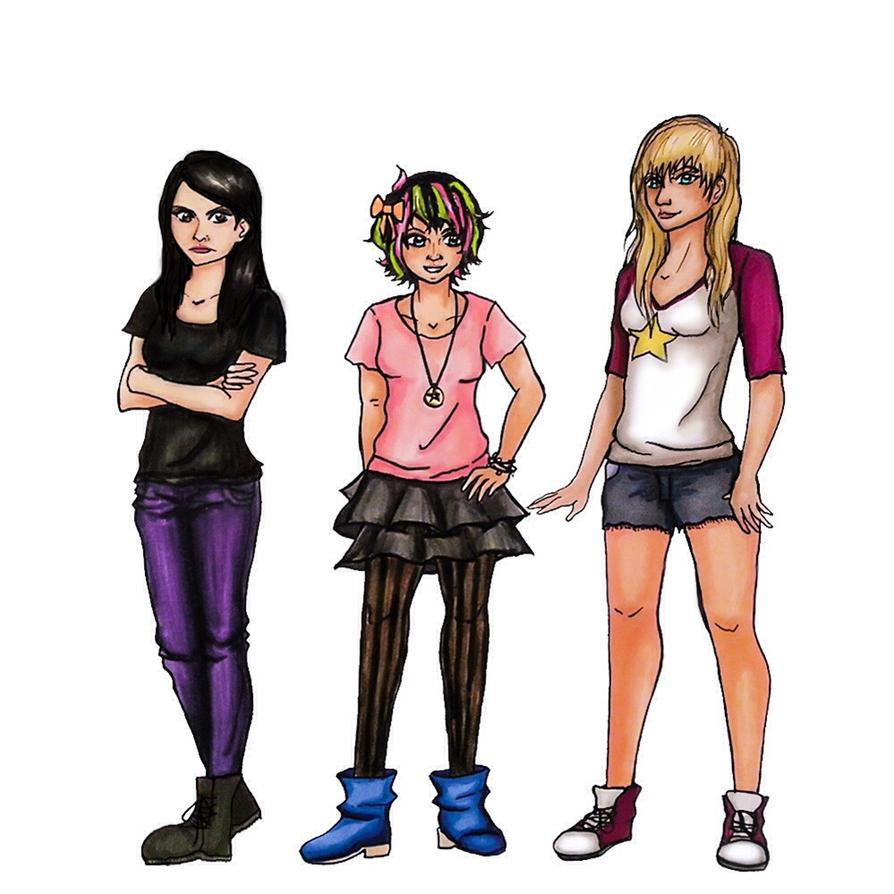 Shadow Falls Trio by Vampyna on DeviantArt